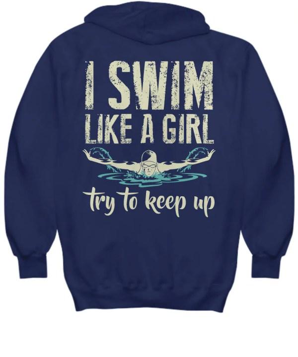 Swimming Lover Hoodies Swim Girl