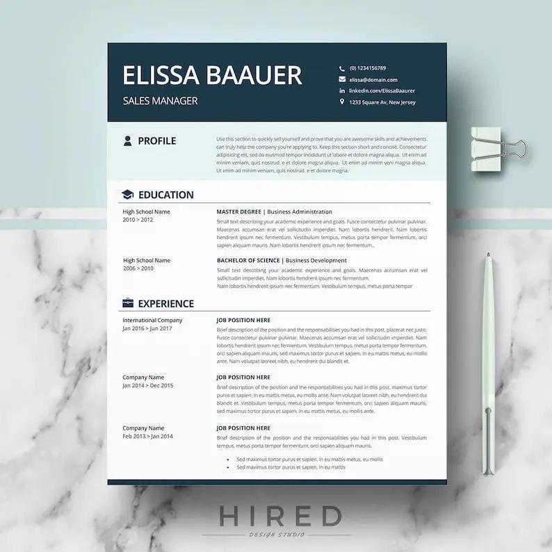 full resume format download