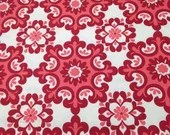 4 Yards Red Ornate Home D...