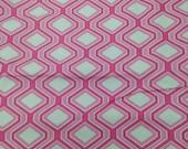3.67 Yards Pink Hexagon H...