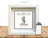 Pebble Art Wedding Scroll Gift. Personalised Picture Handmade & Framed to Order. Sea Glass • Traditional • Options Available