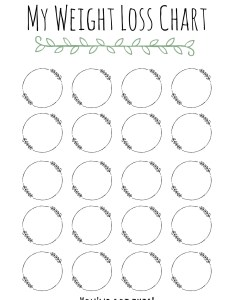 Image also my weight loss chart downloadable tracker etsy rh