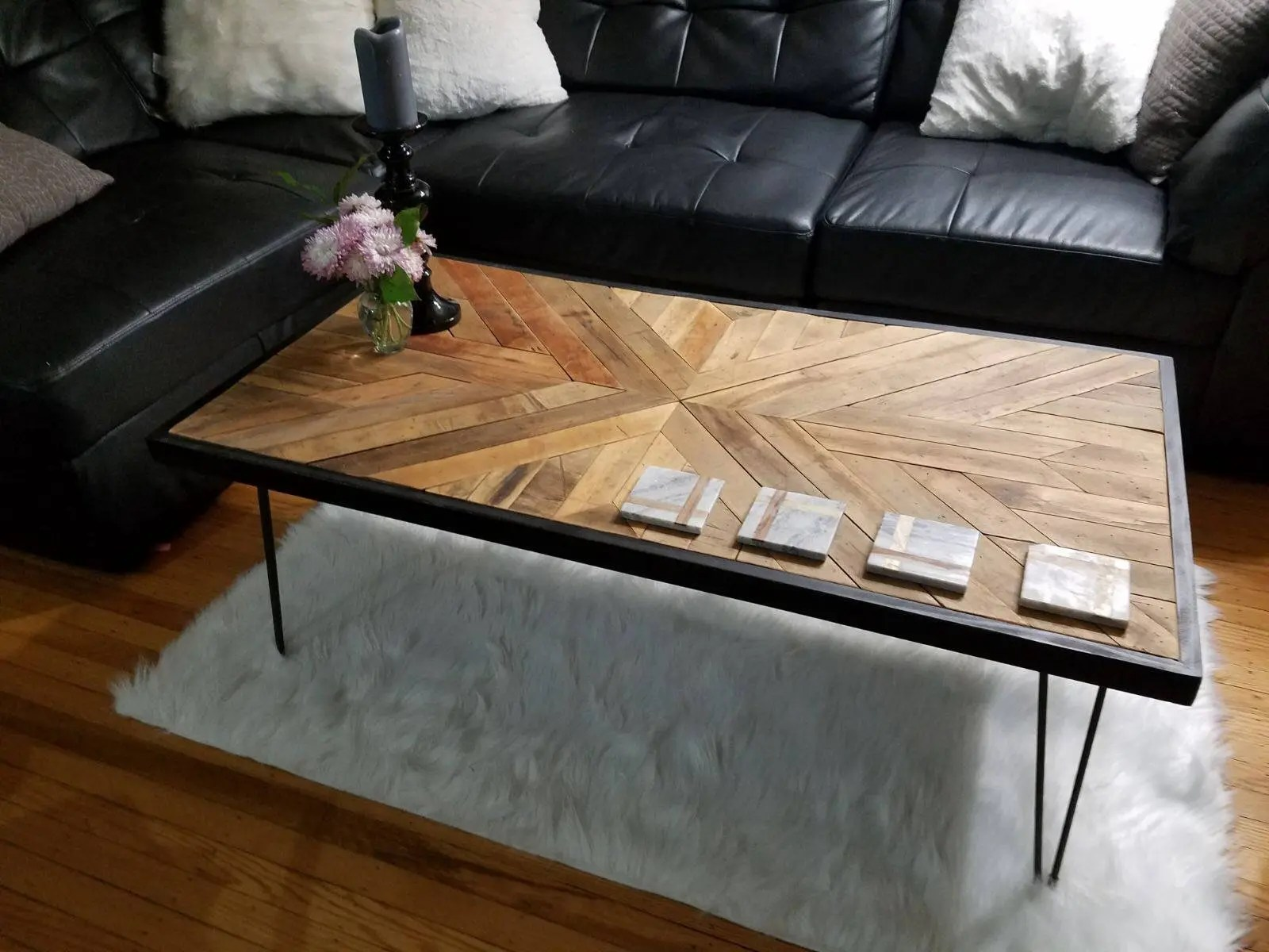 Hardwood Flooring Coffee Table