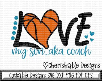 Download Basketball coach svg | Etsy