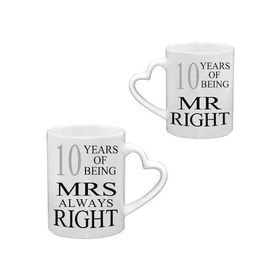 Mr Right & Mrs Always Mugs