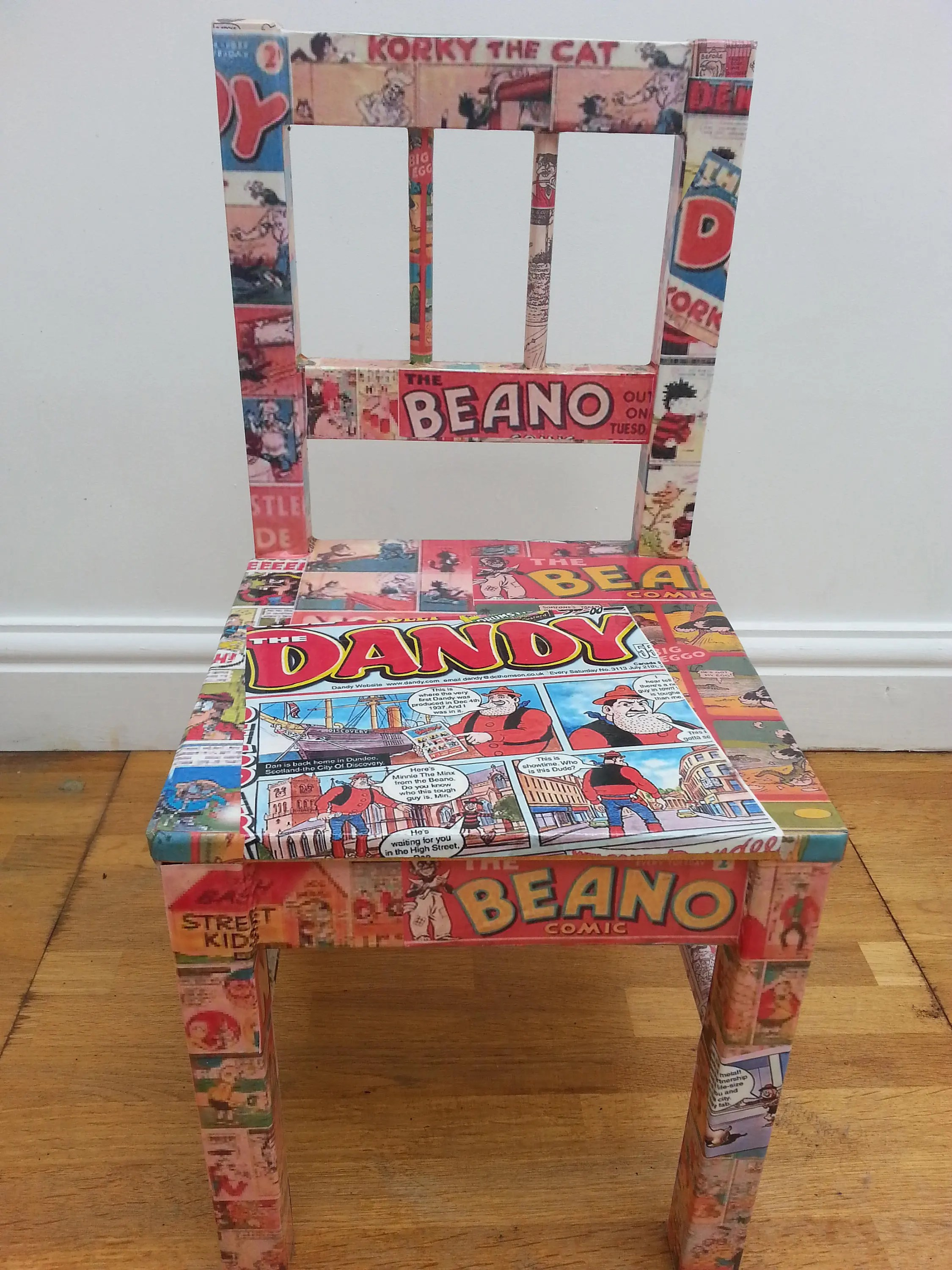 chair covers gladstone wheelchair leg rests vintage leather bag etsy fun kids chairs beano and dandy