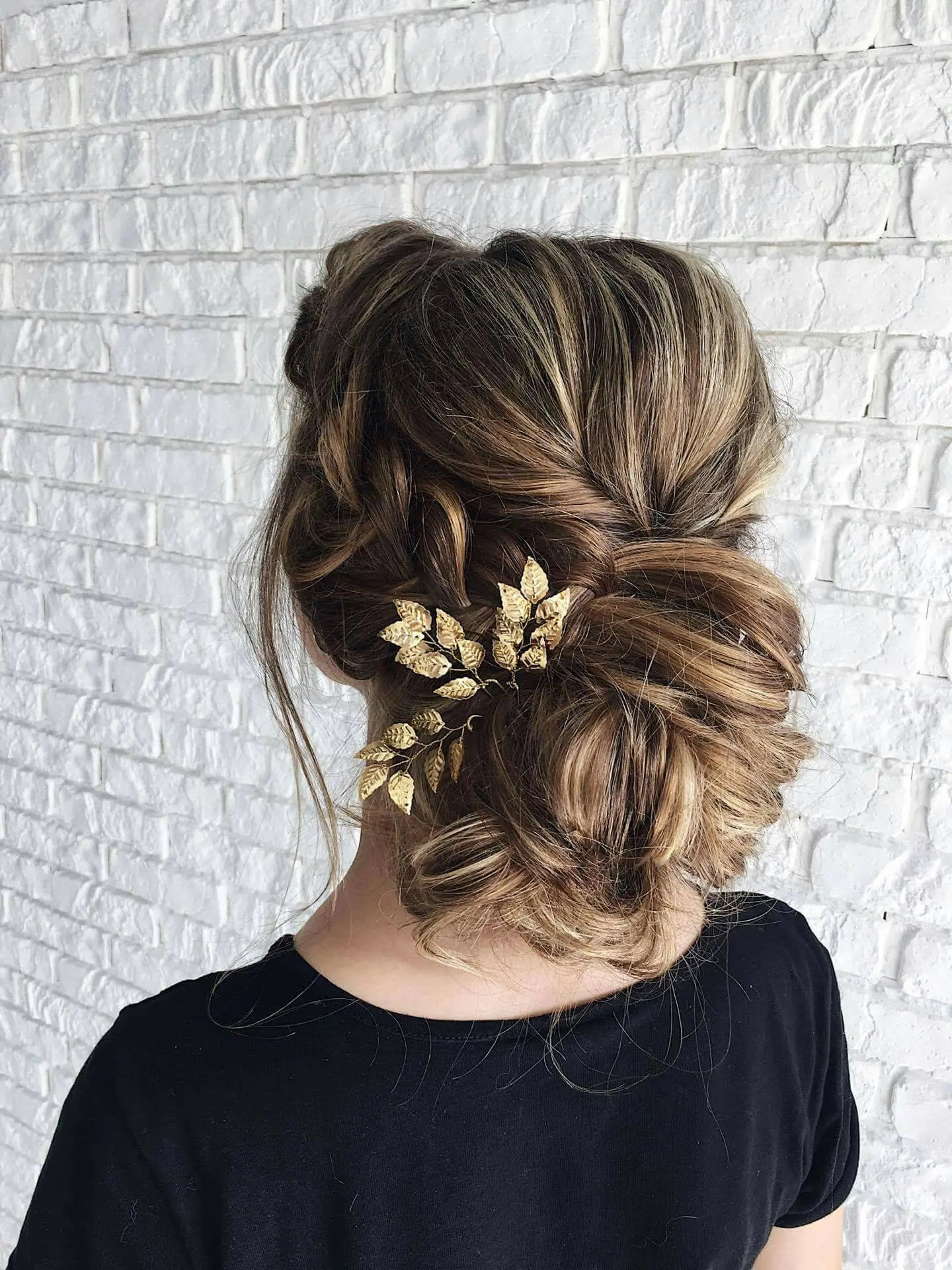 beauty and the beast inspired wedding hair piece bridal hair accessories hair comb gold leaf hair pin flower girl gift belle hair piece gold