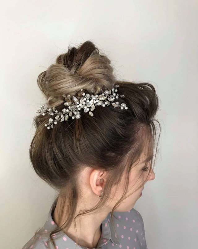 bride headpieces wedding hair piece bride hair accessories rose gold hair piece silver