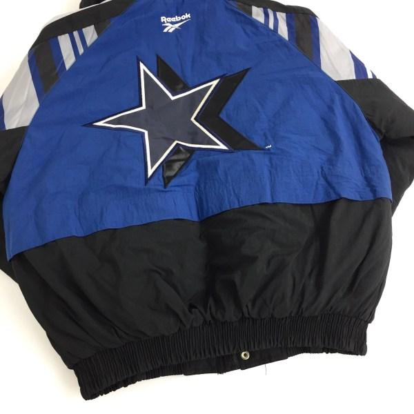 Rare Deadstock Vintage 90s Reebok Nfl Dallas Cowboys