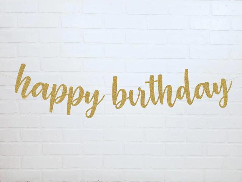 happy birthday banner birthday