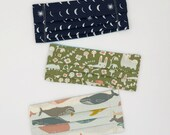 Adjustable organic cotton face mask for kids with filter pocket. Pick your fabric. Pick your tie. Colorful fun prints. Unisex. Girls. Boys