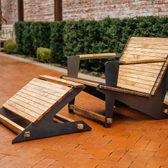 Diy Adirondack Chair Kit Best Hunting With Footrest Etsy Image 0