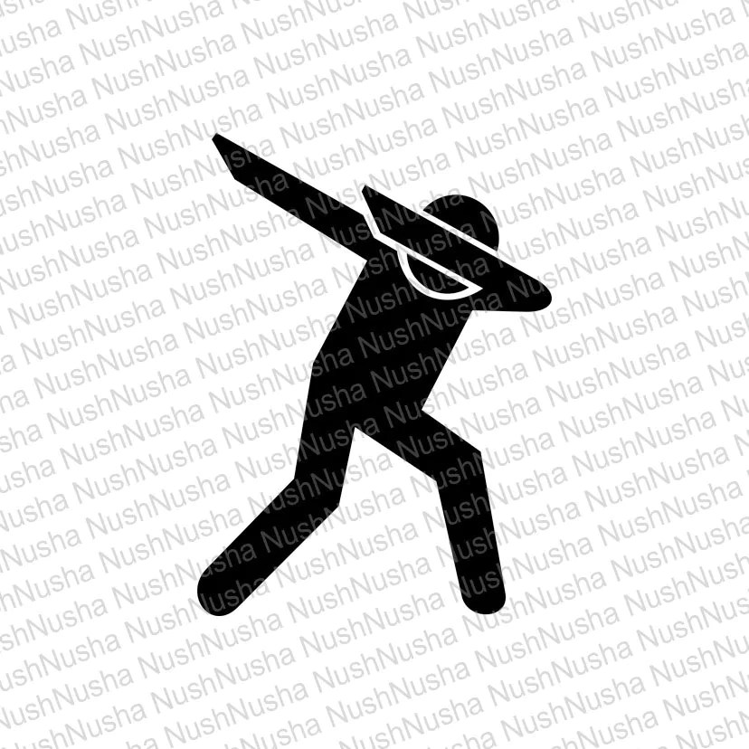 dab silhouette svg dxf