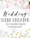 Wedding Scene Creator Top View Wedding Photography Moveable Etsy