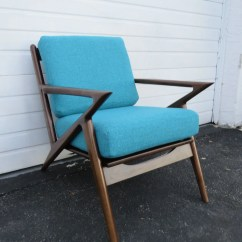 Z Chair Mid Century Office Posture Guide Etsy Retro Vintage Style Living Bed Room Side Lounge 9421