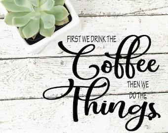 Download Coffee svg | Etsy