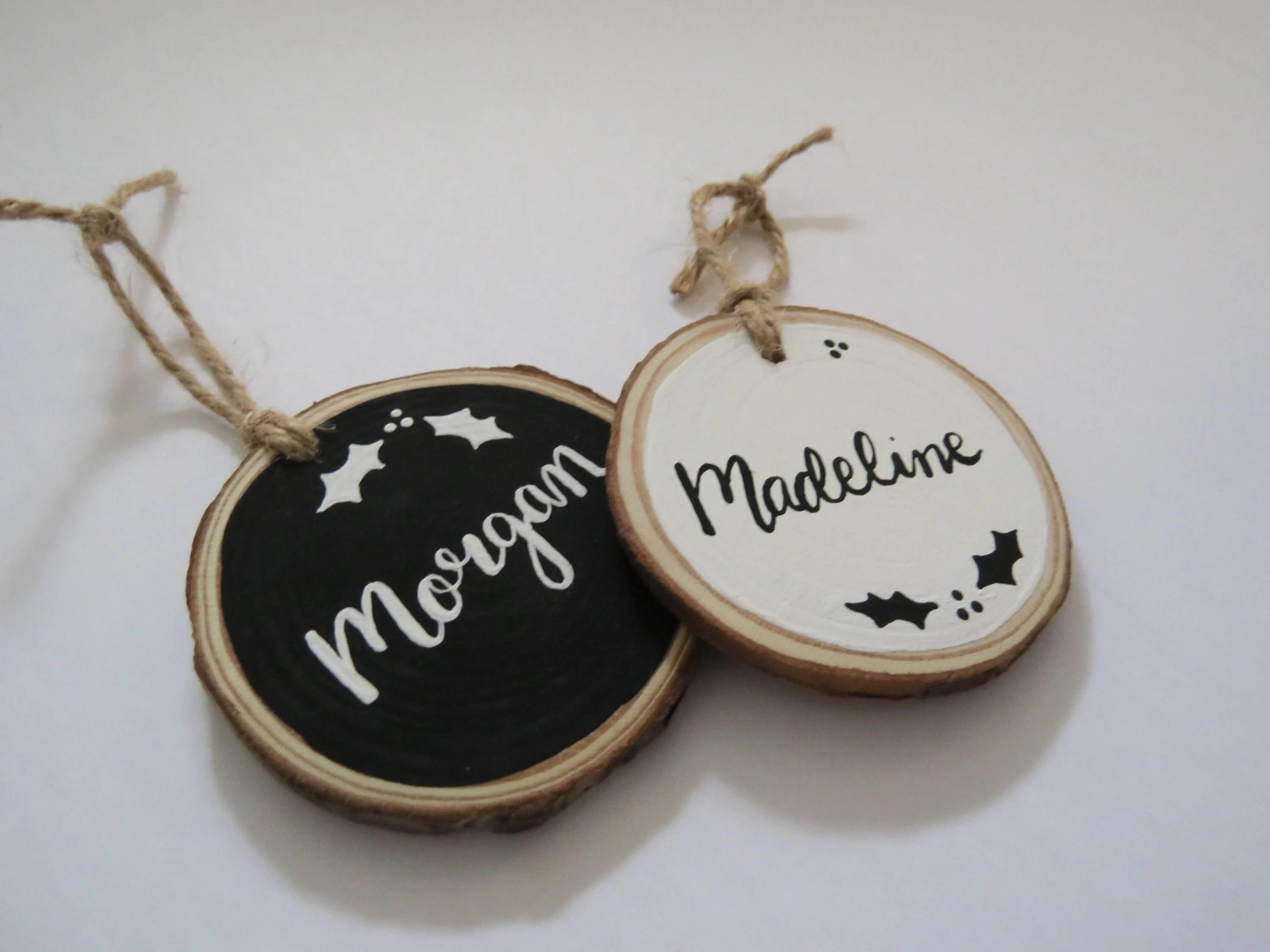 Personalized Christmas Ornaments  Name Family Custom Gift image 3