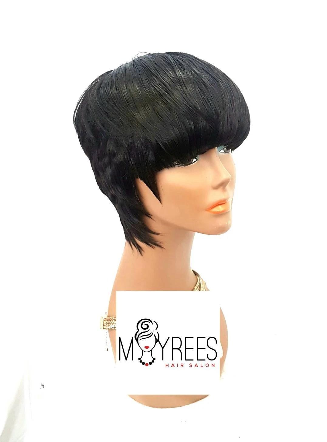 Mushroom Cut Wig : mushroom, Pixie, Bowl/mushroom