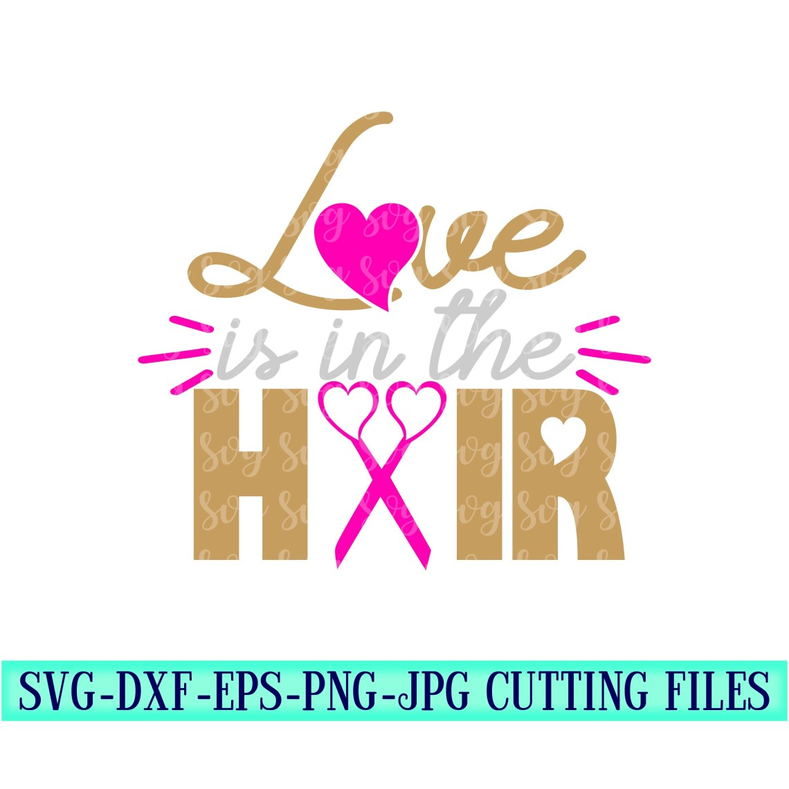 Download love is in the hair svg,hair stylist svg,scissors svg,hair ...
