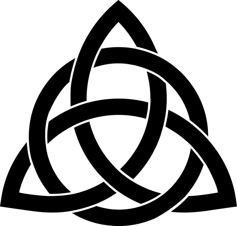 Download Triquetra Celtic Knot SVG Celtic Knot SVG Triquetra SVG | Etsy