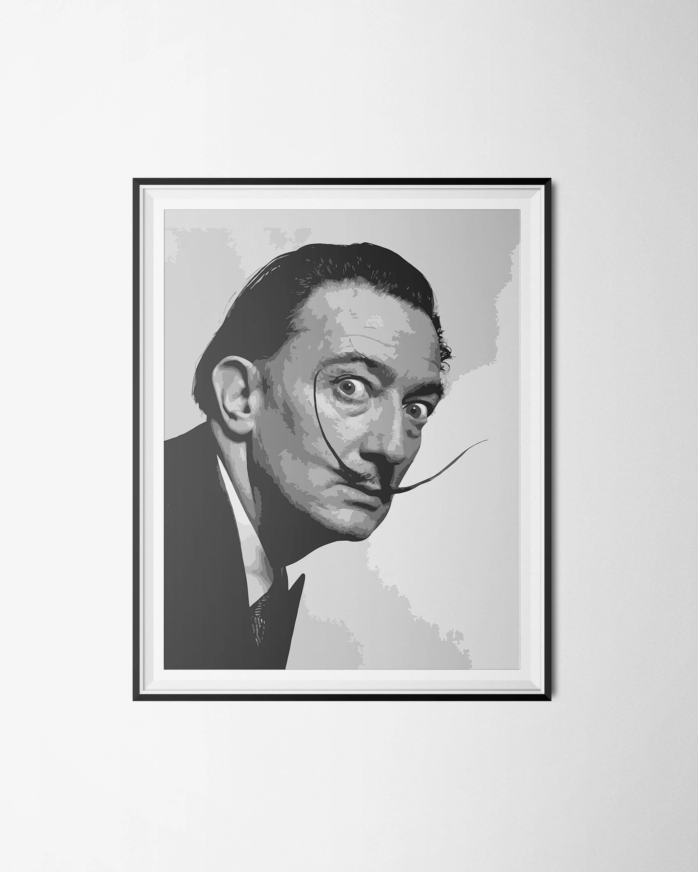 Salvador Dali Poster Salvador Dali Print Surrealism