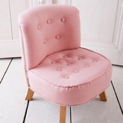Pink Kids Chair Patio Cushions Canada Etsy Child Stool Children Or