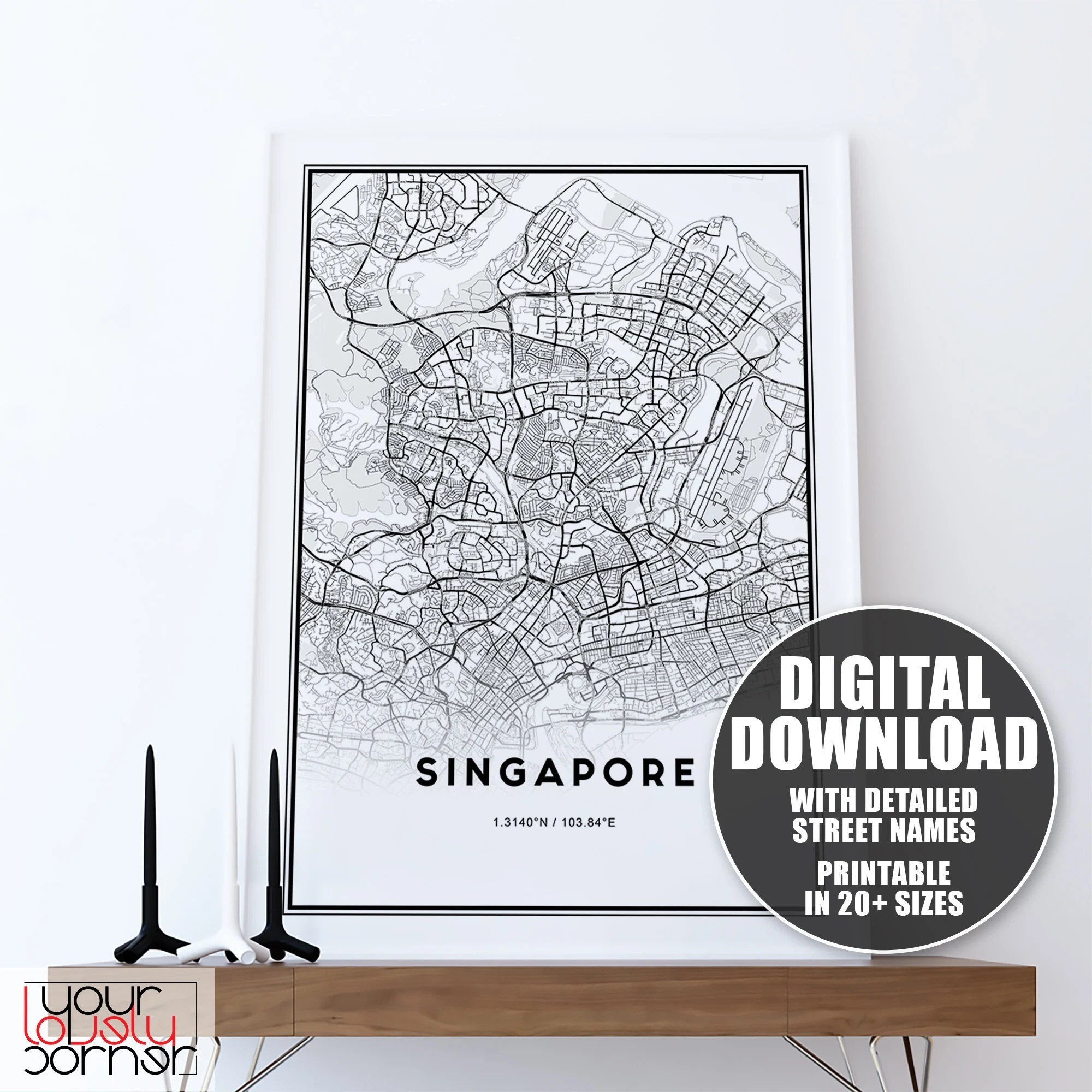 handmade products singapore city map