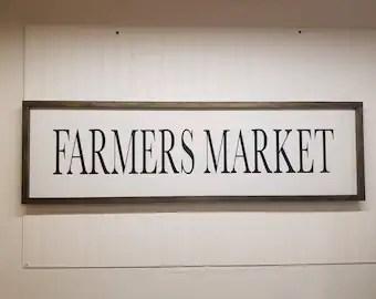 Farmers Market Decor Etsy
