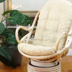 Wicker Rocking Chair Adirondack Chairs Portland Oregon Etsy Java Lounge Swivel Rattan Handmade W Cushion White Wash