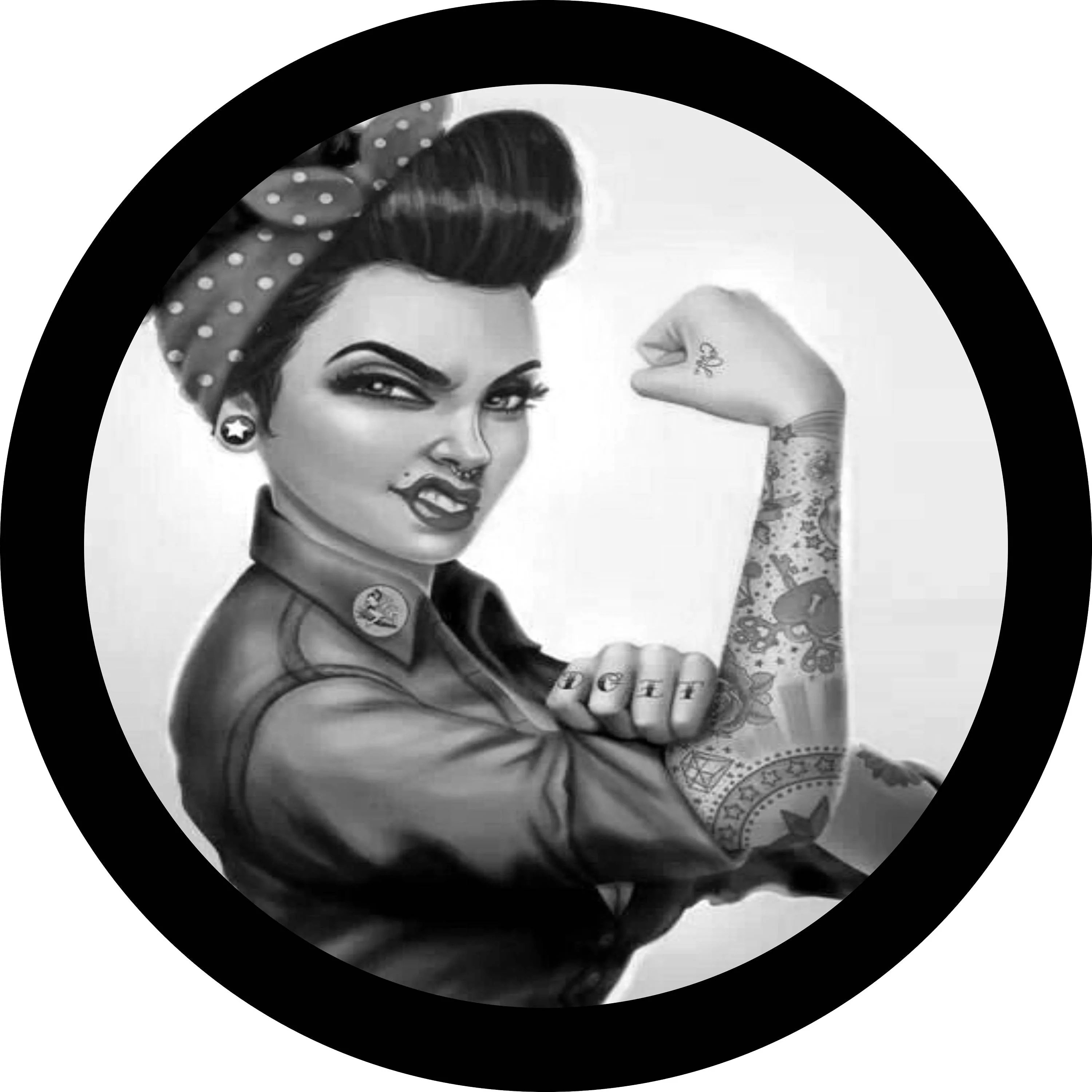 Rosie The Riveter Tattoos Pictures