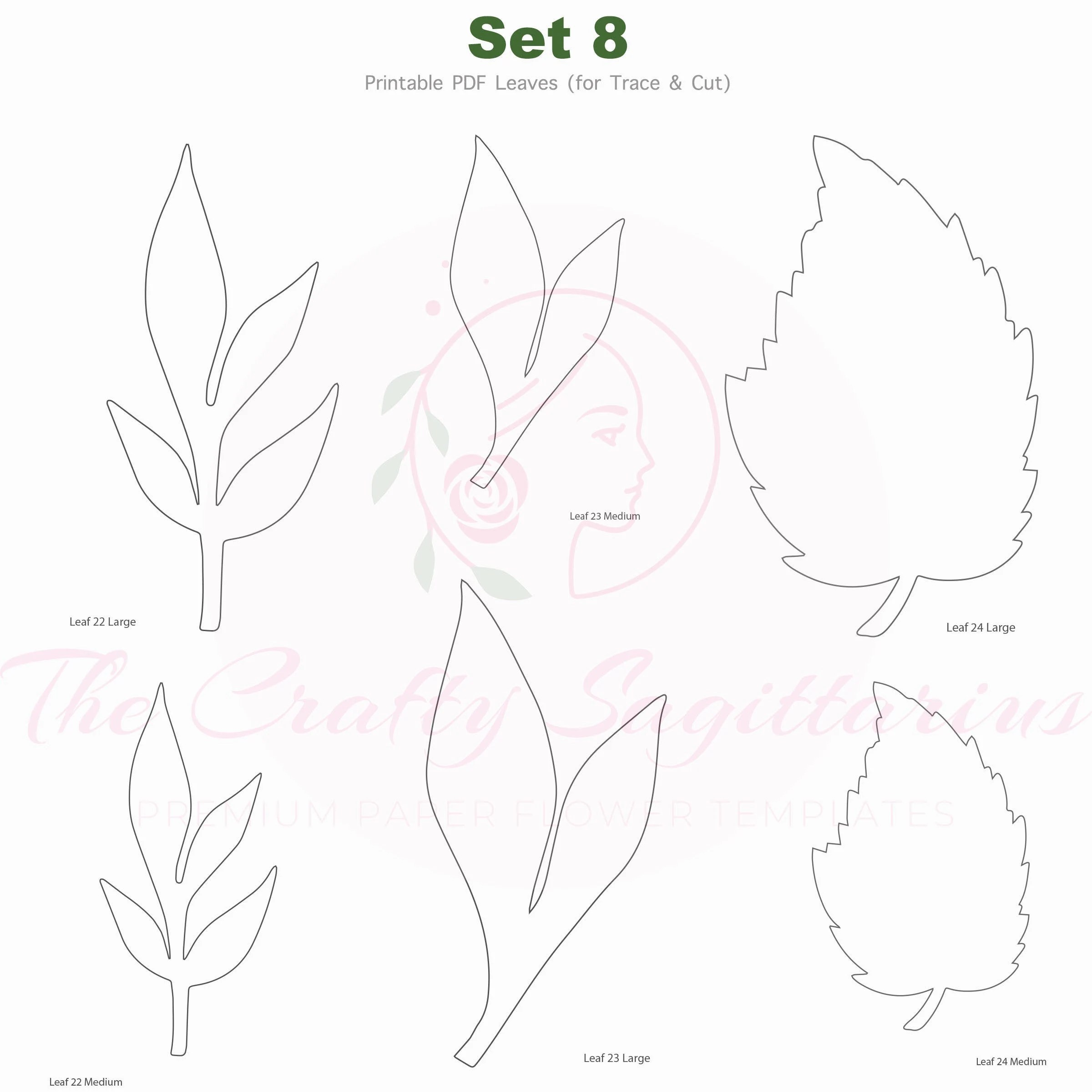 Leaf Cut Out Pattern Pdf