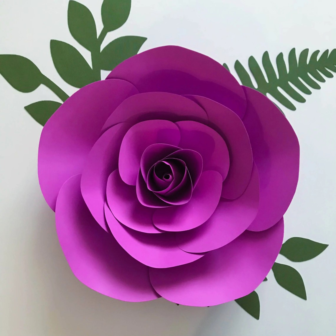 Download Paper Flowers, SVG 11 Flower Template Set, Files for ...