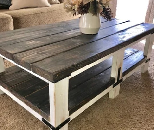 Farmhouse Coffee Table Local Pickup Only