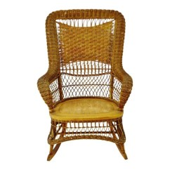 Sikes Chair Company Zero Gravity Cord Antique Arts Crafts Counter Stool Etsy Victorian Larkin Wicker Rocking