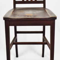 Sikes Chair Company Adirondack Ski Antique Arts Crafts Counter Stool Etsy 50