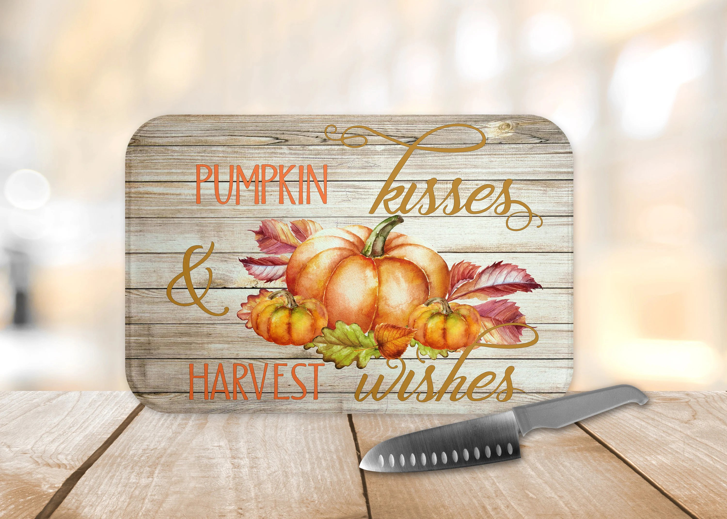 fall kitchen decor cabinets lowes autumn etsy image 0