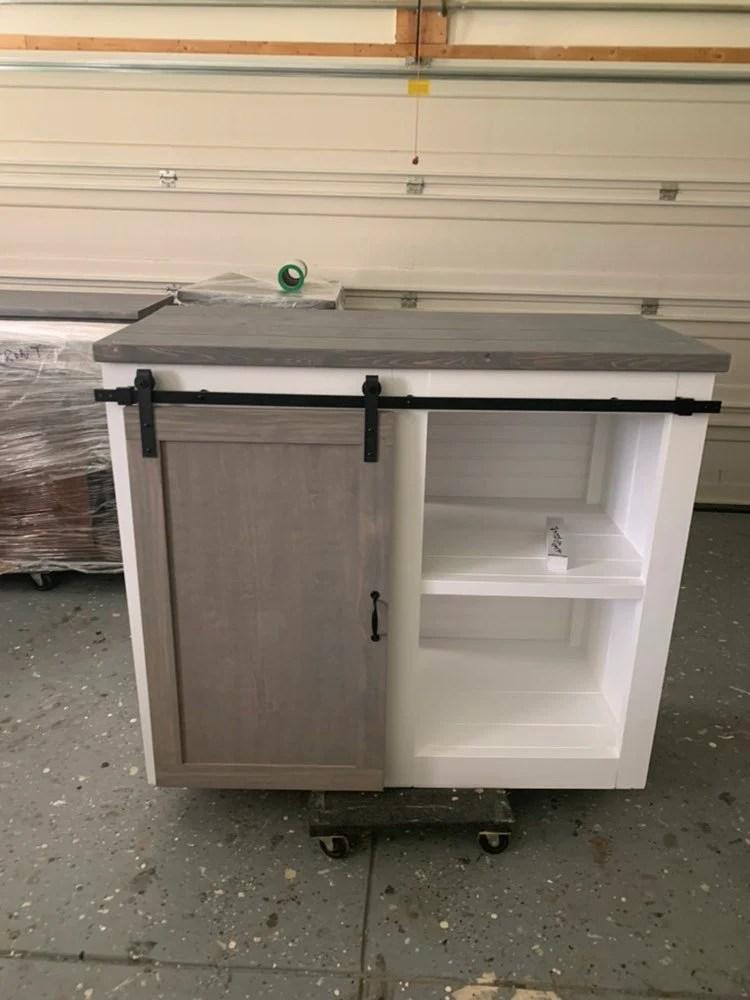 mini fridge cabinet etsy