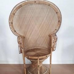 Vintage Peacock Chair Folding Plastic Adirondack Chairs Etsy Rattan