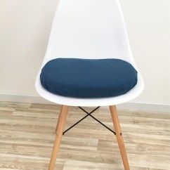 Eames Chair Cushion Gigatent Camping Blue Seat Charles Etsy Image 0