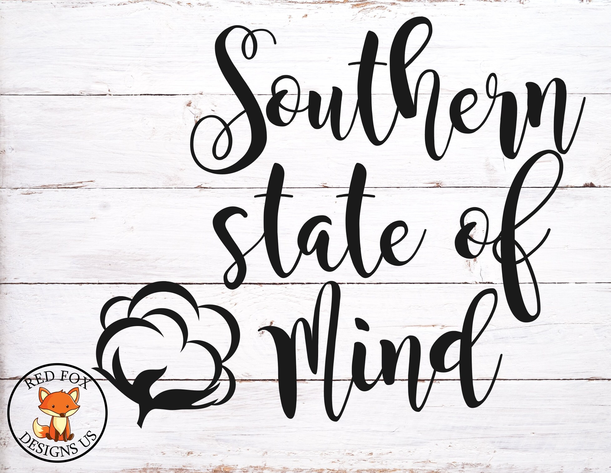 Southern State of mind svg country life svg southern chic