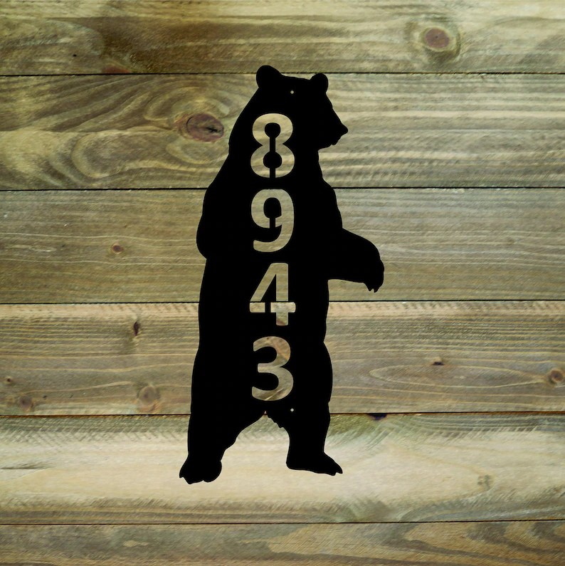 standing bear house number