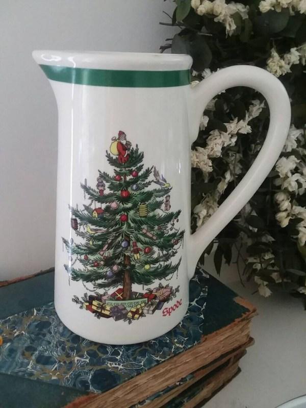 Spode Vintage Christmas Pitcher Tree