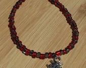 Lady Bug Charm Bracelet, ...