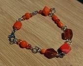 Orange Bracelet, Orange B...
