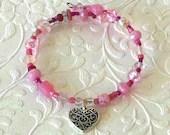 Lovers Charm Bracelet, Pi...