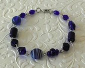 Blue Saturn Bracelet. Blu...