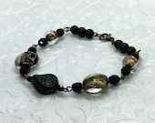 Black Gold Mystery Bracelet Perfect Gift for Her