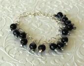 Jade Glass Bead Bracelet,...