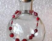 Red Velvet Bracelet, Red ...
