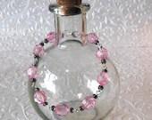 Pink Rondelle Bracelet, P...